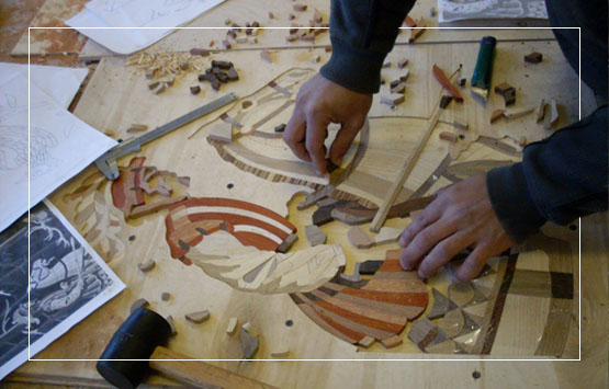 Parquet production