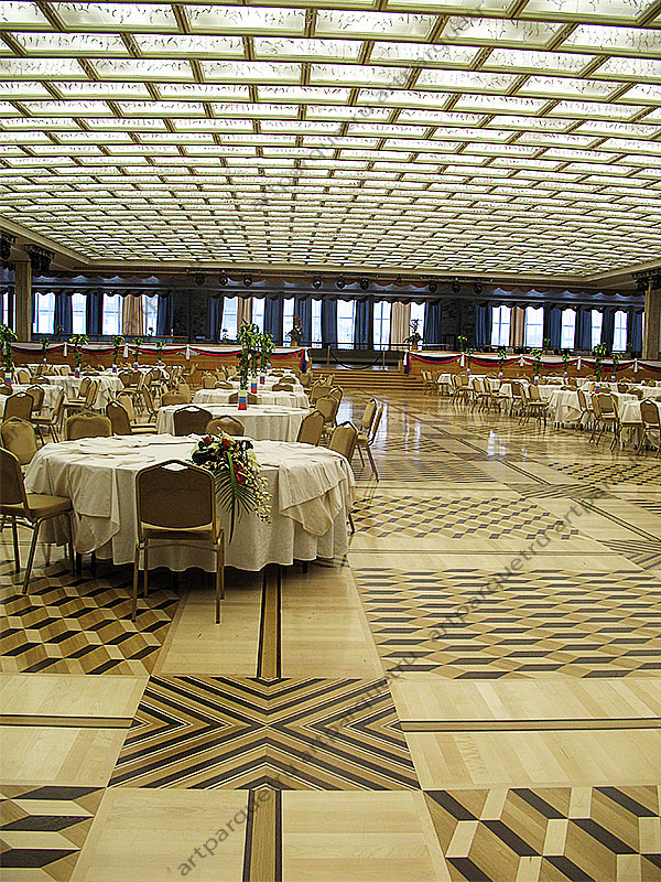"Restoration works in the Banquet hall, Moscow Kremlin. ""Parket. Napolnye pokrytiia, №1, 2006"