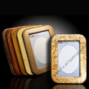 Simple picture frames from valuable wood species